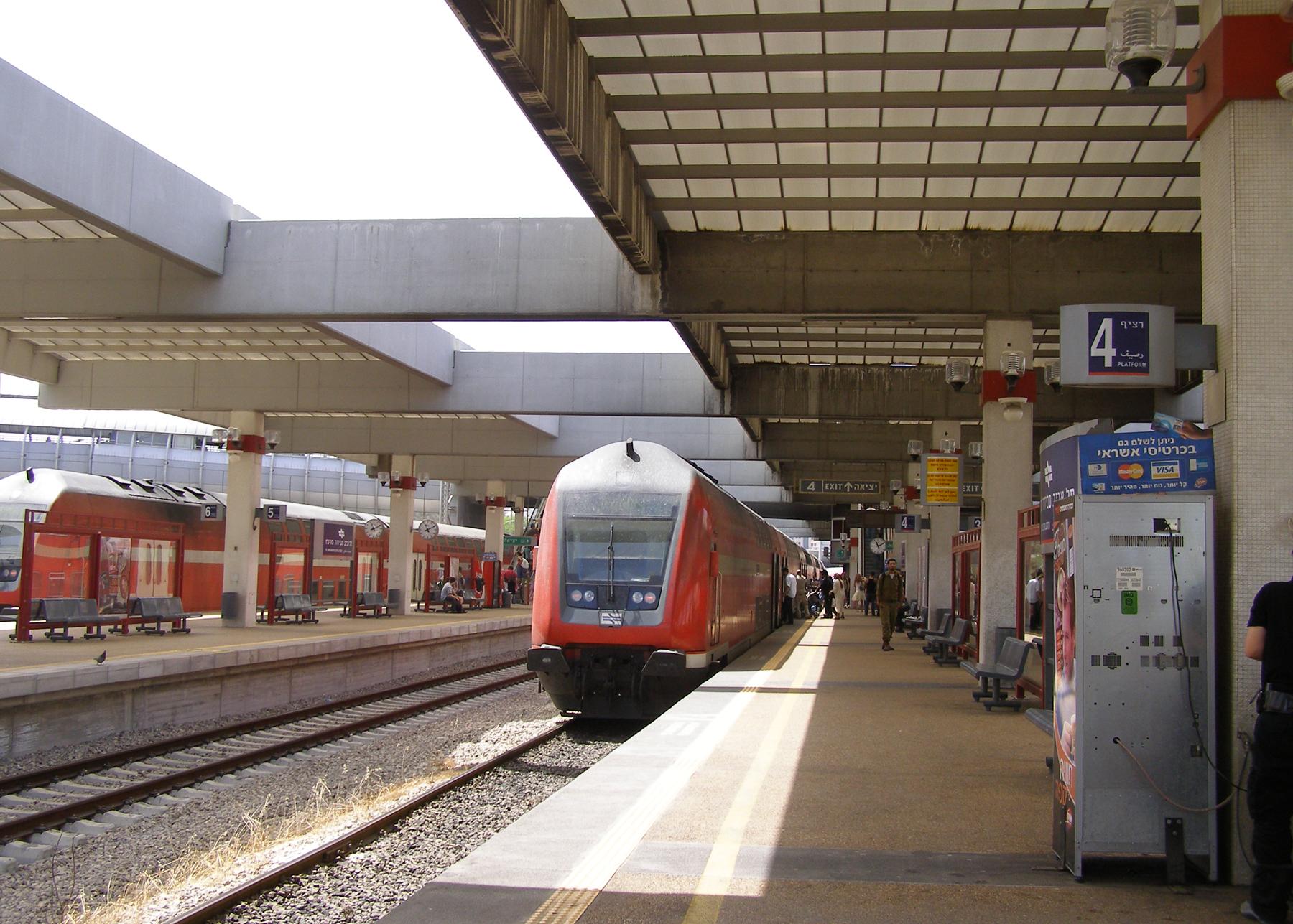 Станция Тель-Авив