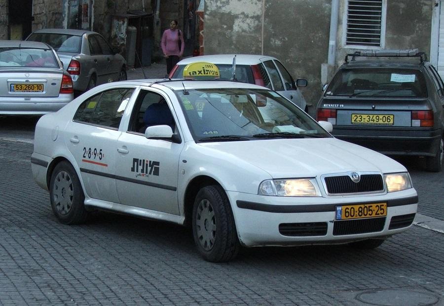 Взять такси в Тель-Авив