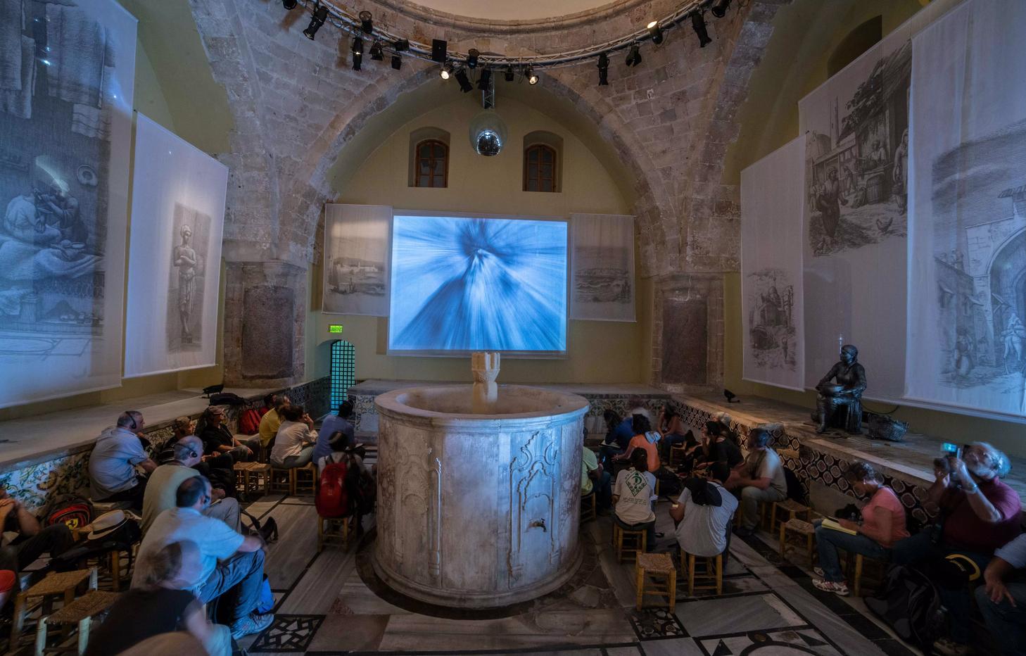 На экскурсии в Hamam El Basha Museum
