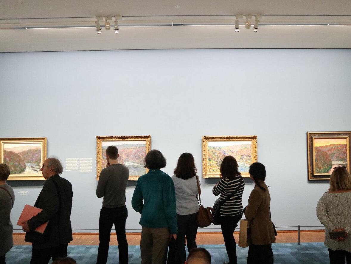 Галерея Альбертина самая посещаемая в Вене