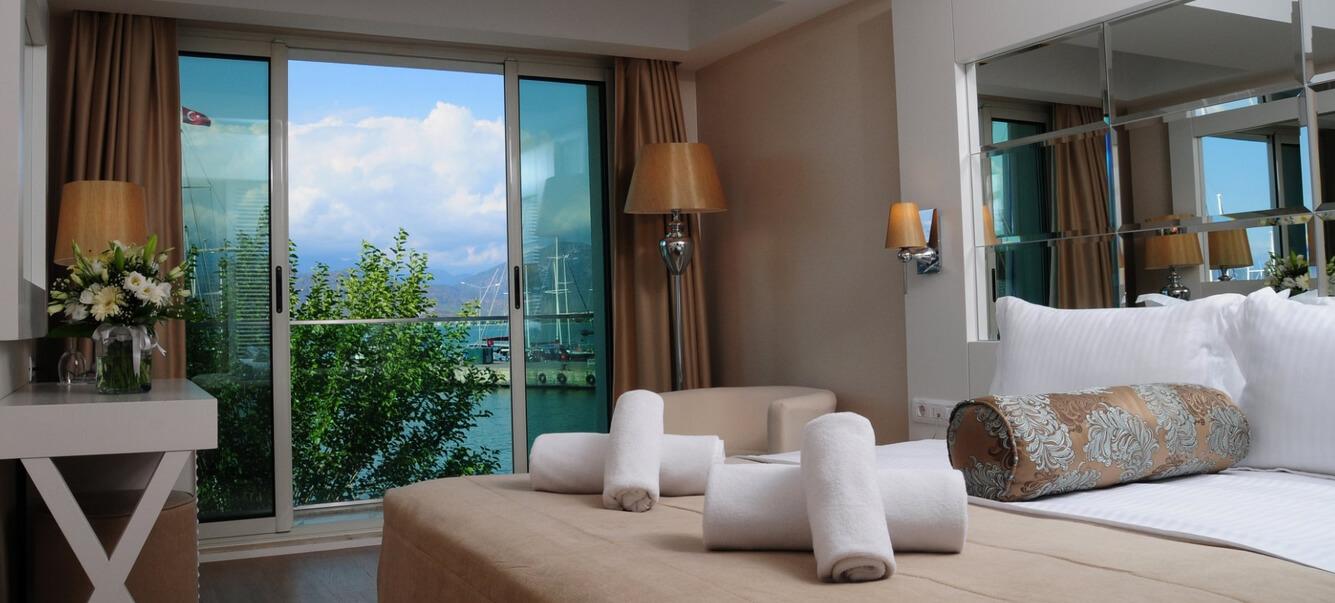 Номер в отеле Alesta Yacht Hotel