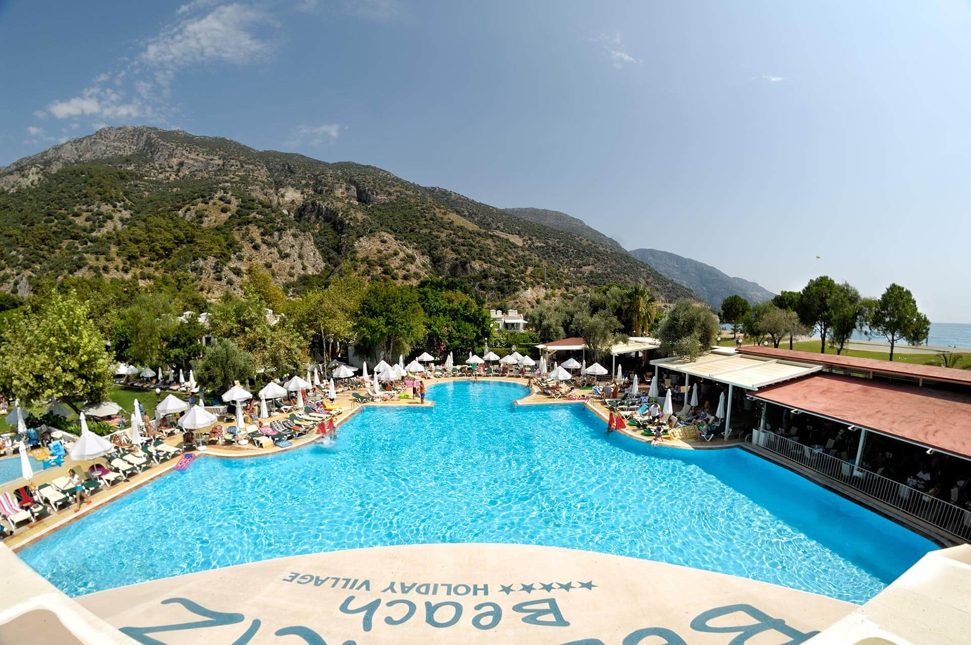 Отель Belcekiz Beach Club