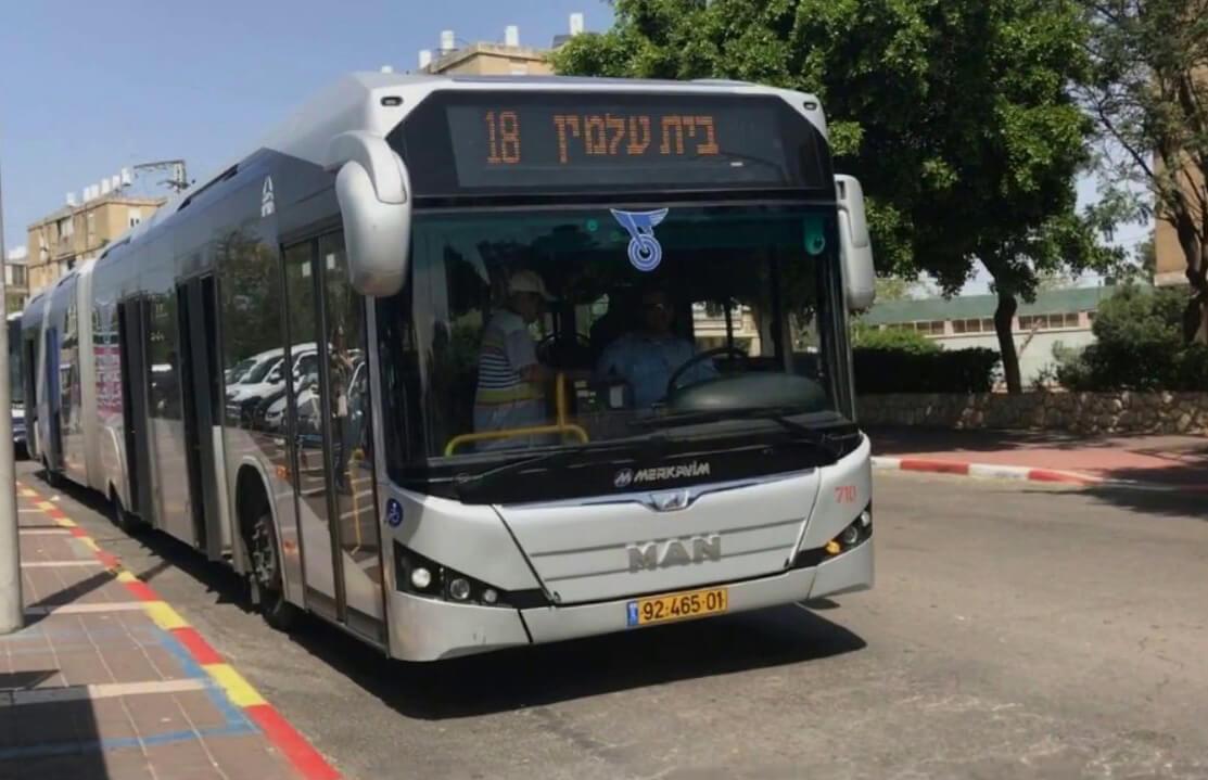 Автобус до Бат-Яма