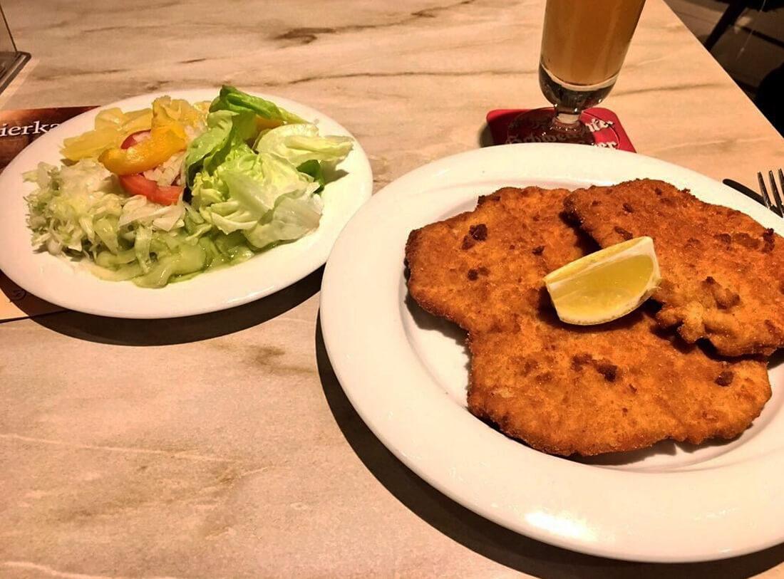 Поесть в Вене дешево