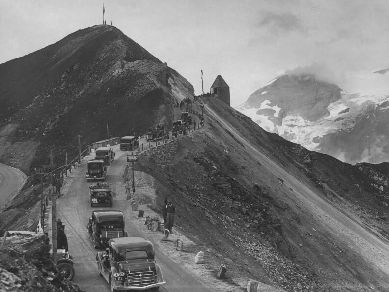 Открытие дороги в 1935 году