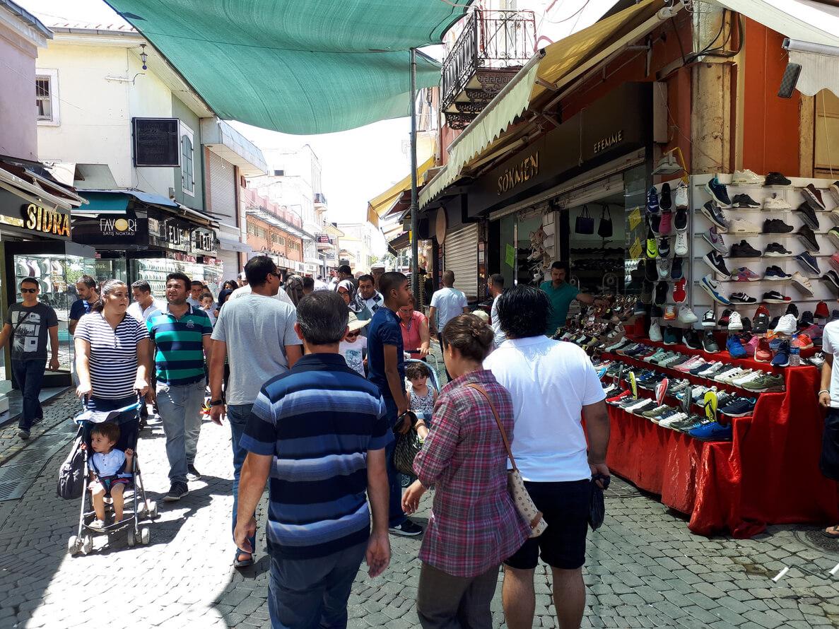 На рынке Измира
