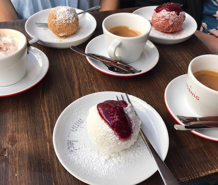 Десерты в Knoedel Manufaktur