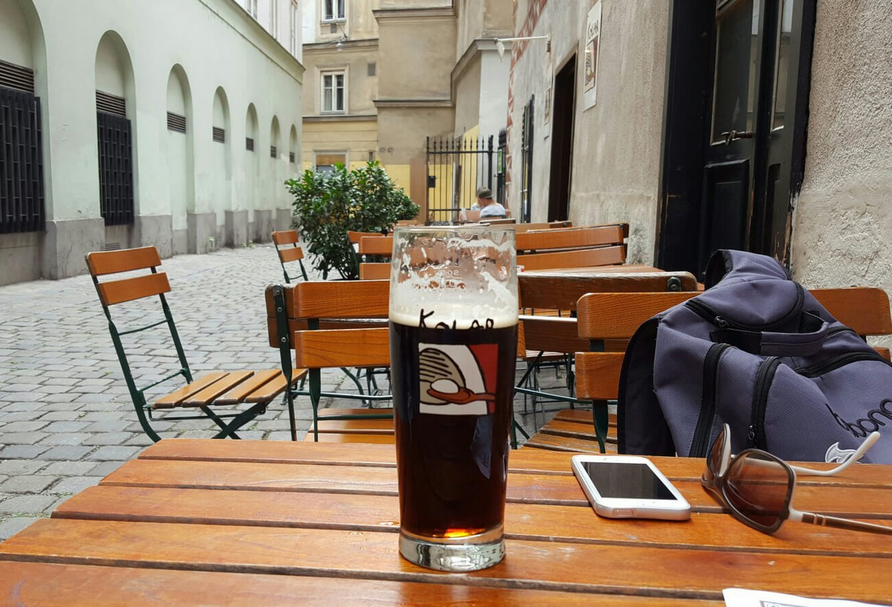 Уличная площадка кафе Kolar