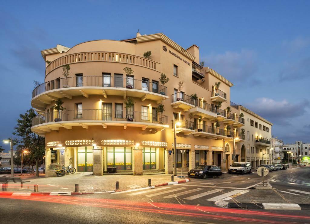 Отель Margosa Tel Aviv Jaffa