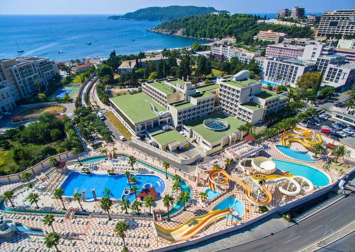 Аквапарк в отеле «Медитеран»