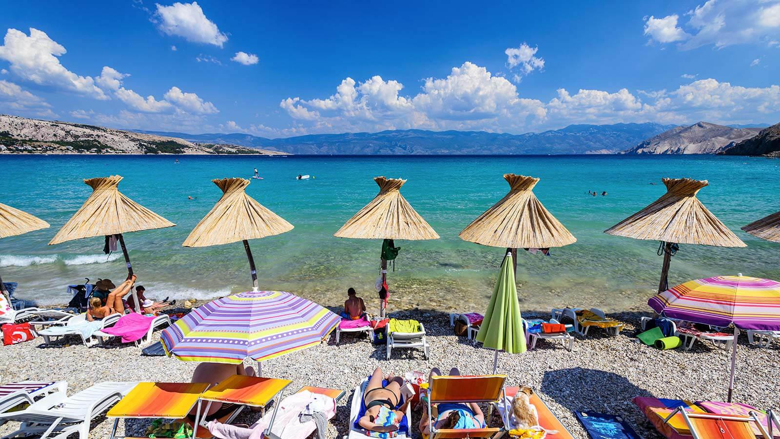Пляж Вела Плажа Башка