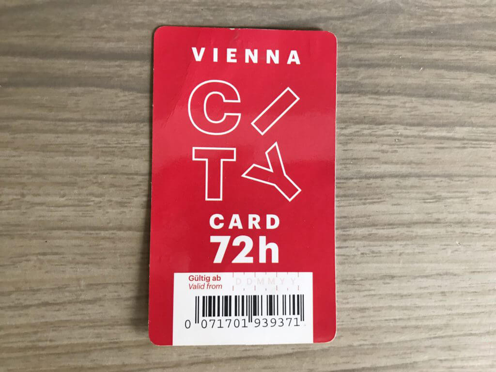 Красная Vienna City Card