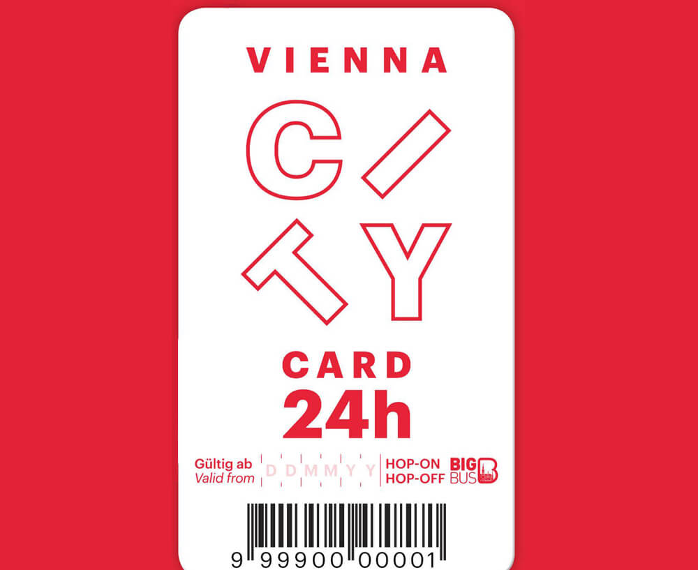 Белая Vienna City Card