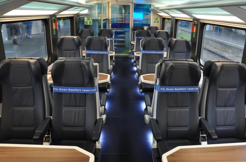 В локальном поезде Westhbahn