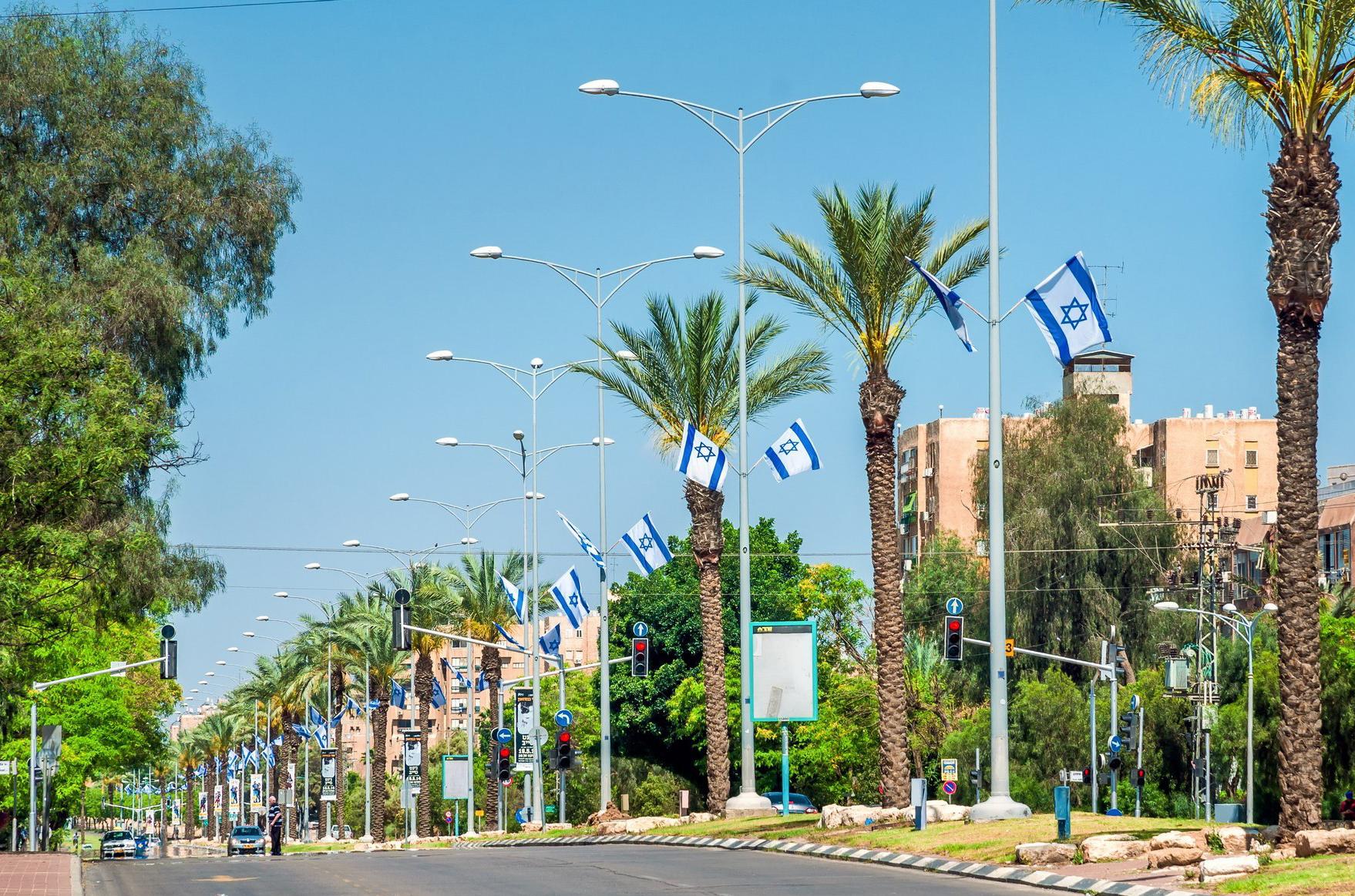 Одна из улиц Беэр-Шевы