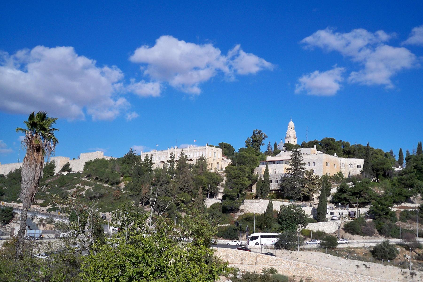 Гора Сион, Иерусалим