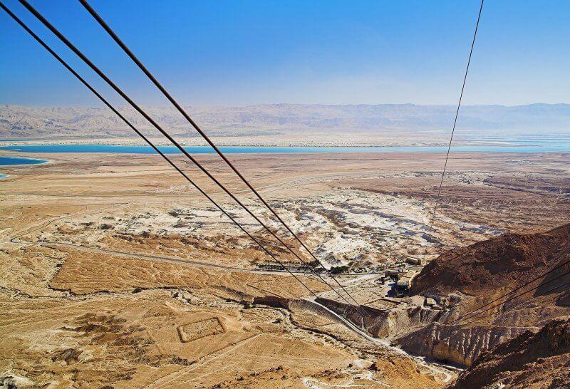 Гора Арад, Мёртвое море