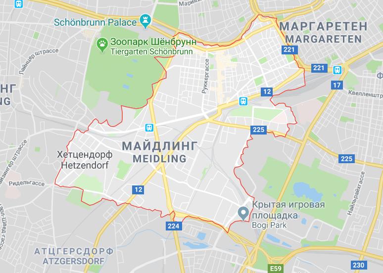 Район Майдлинг