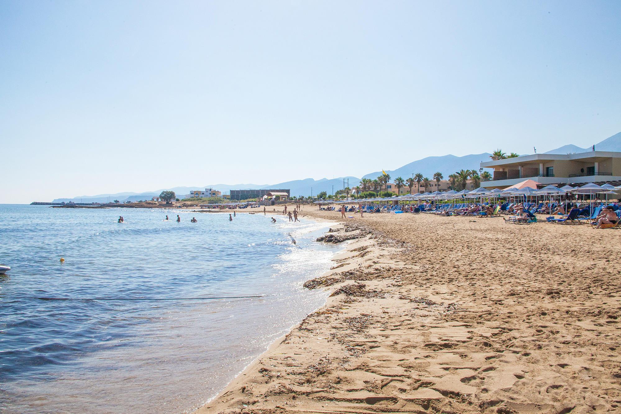 Пляж Малия, Крит