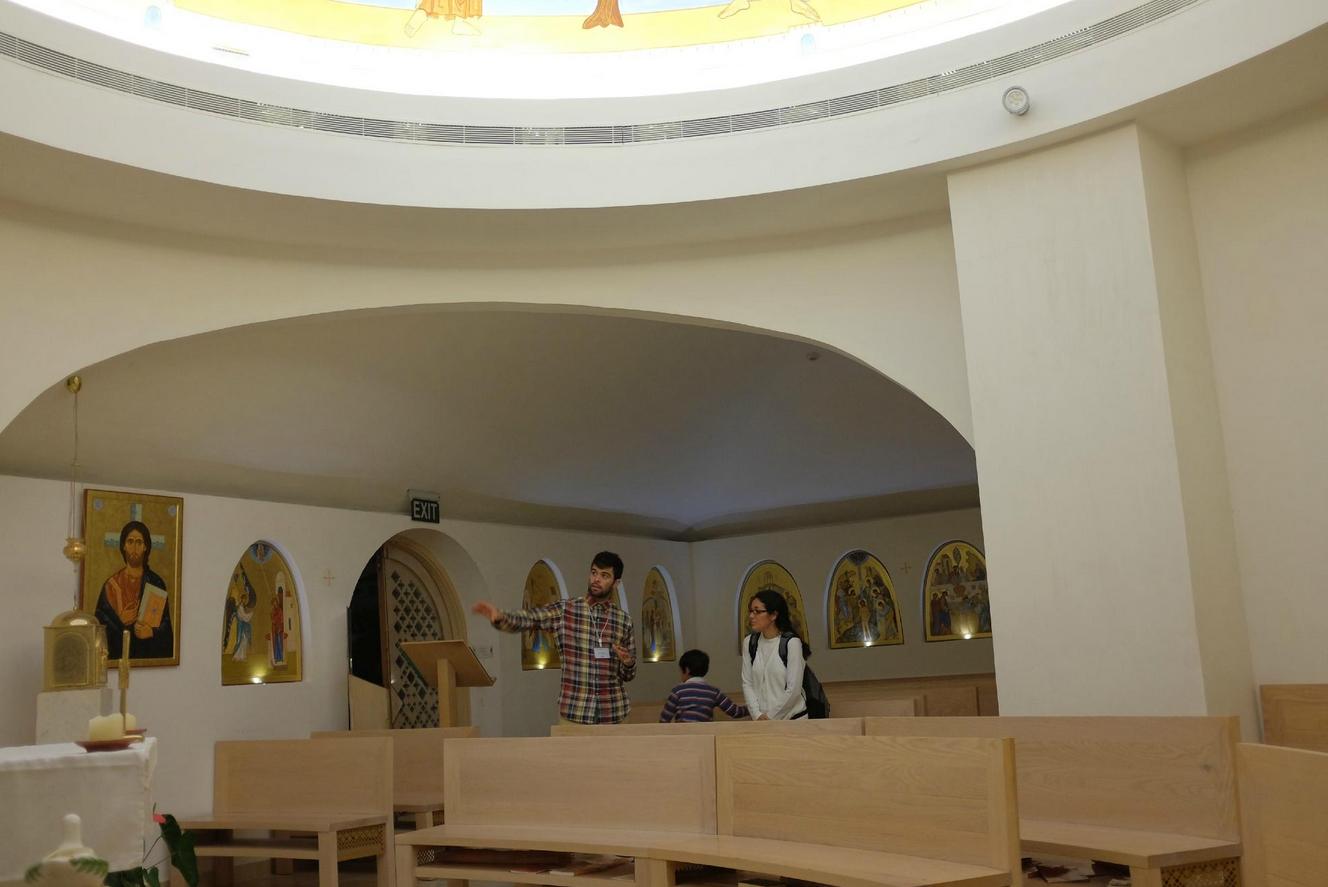 В международном центре Марии из Назарета