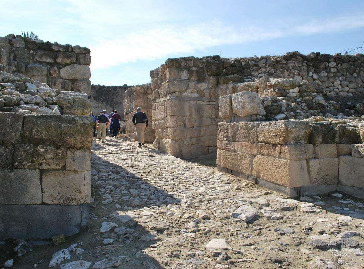 На экскурсии в Национальном парке Мегиддо