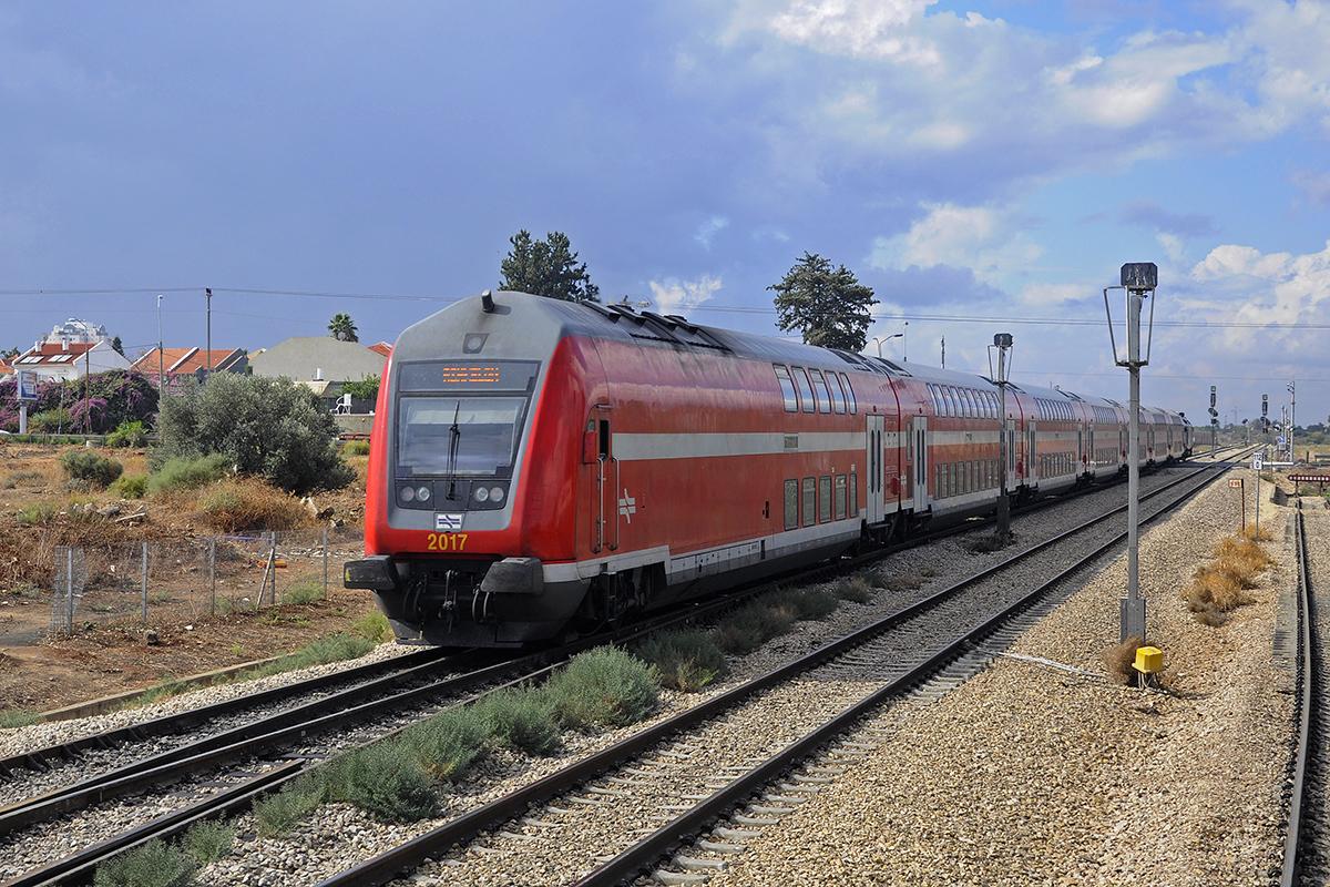 На поезде до Хадеры