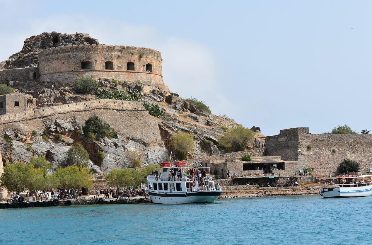 Экскурсия на остров Спиналонга в Греции