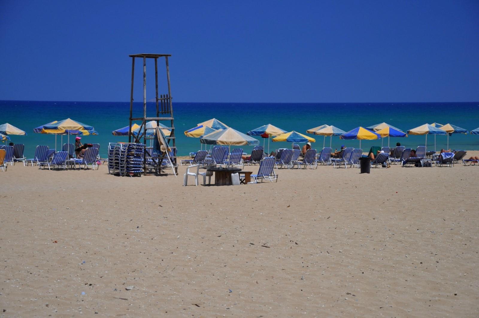 Пляжи Амнисос