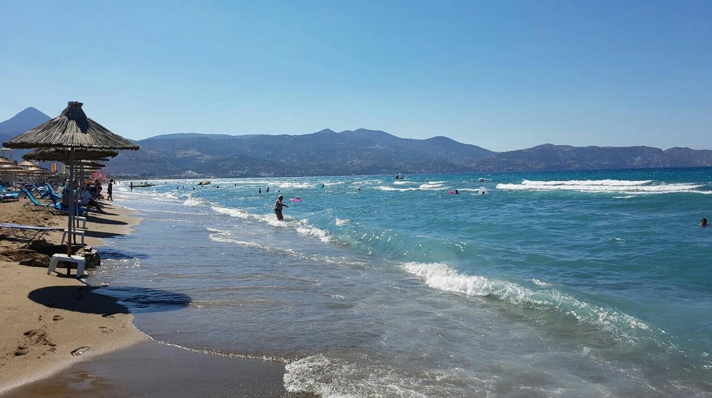 Пять лучших пляжей Ираклиона: на карте, как добраться, температура ... | 785x1405