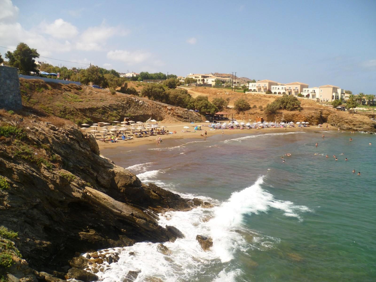 Вид на пляж Панормо