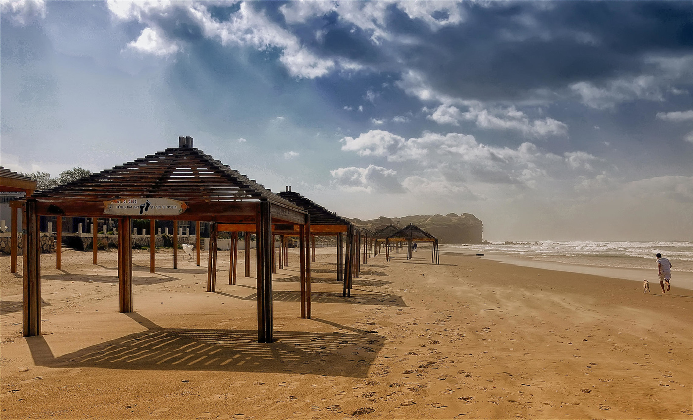 Пляж в Хадере «Гиват Ольга»