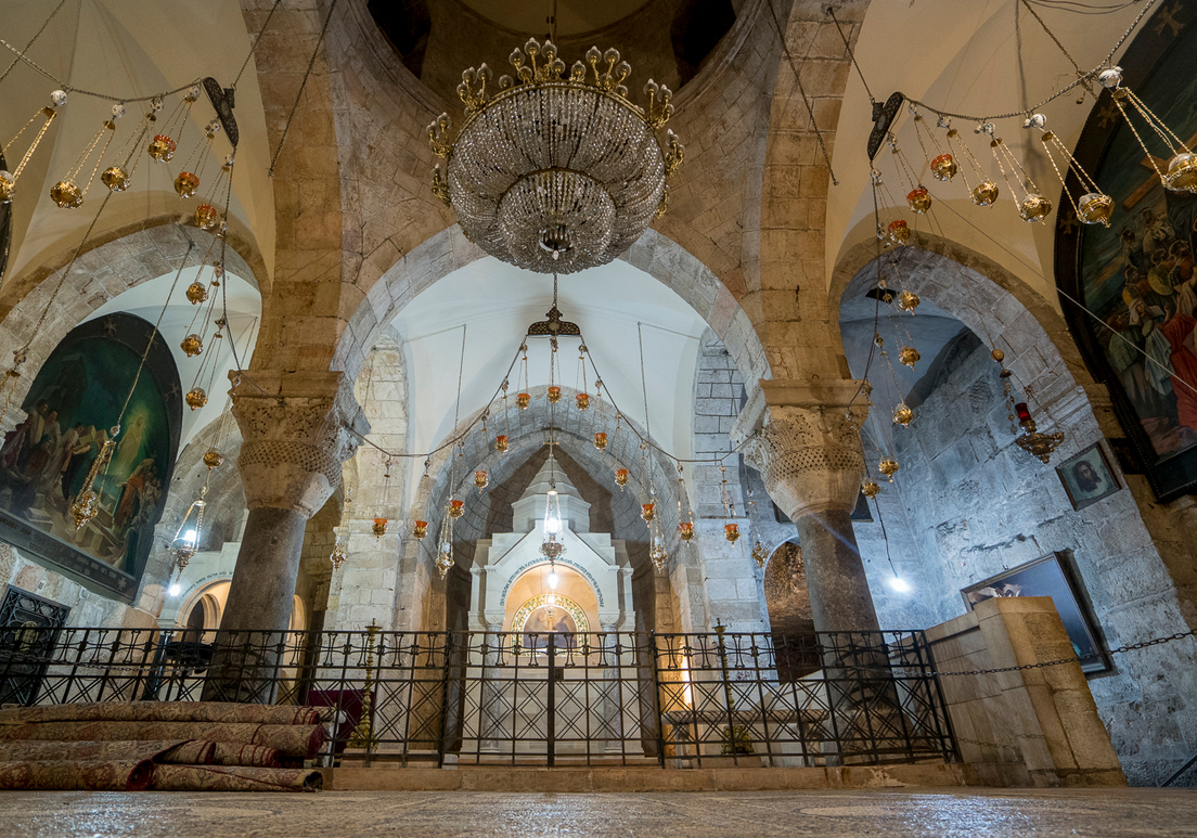 Подземная Церкви Св. Елены