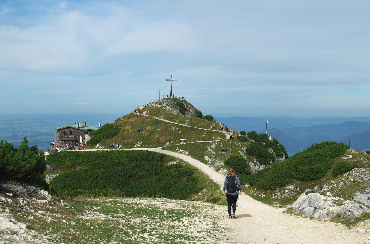 Подъем на гору Унтерсберг