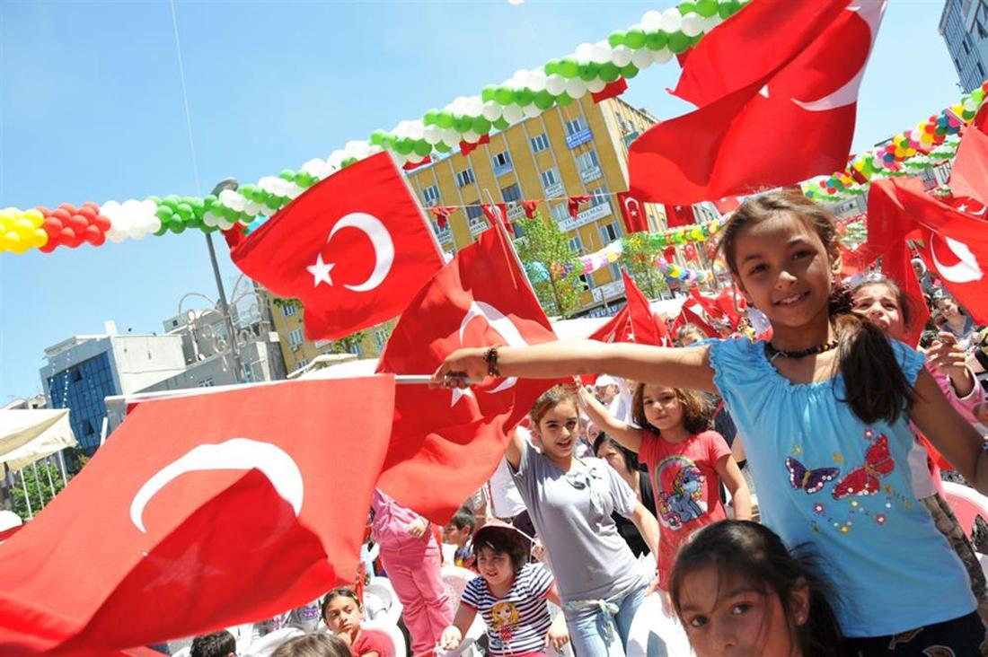 Праздник Национального суверенитета и детей в Турции