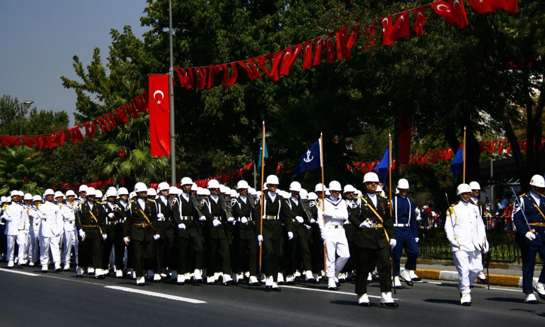 Праздник победы в Турции