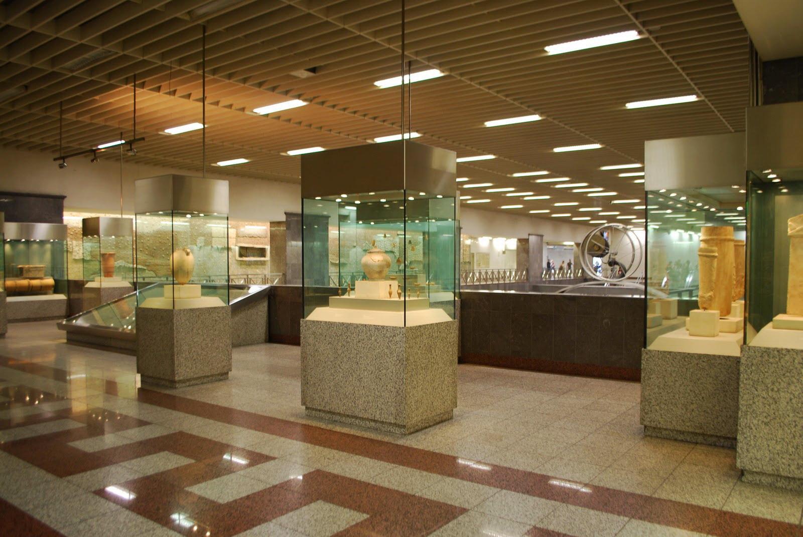 На станциях Афинского метро можно полюбоваться археологическими находками