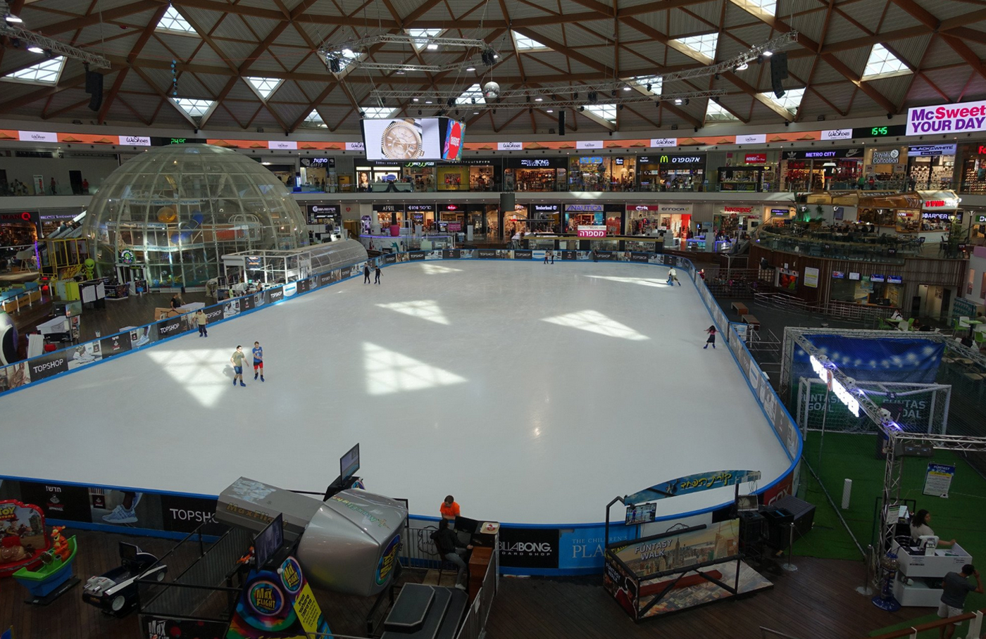 Отдых в ТРЦ Ice Mall Eilat