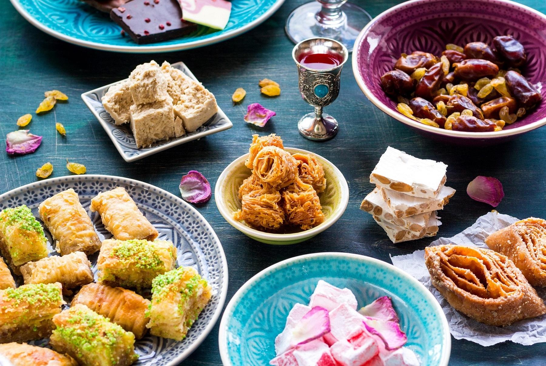 Обязательной составляющей любого стола является десерт