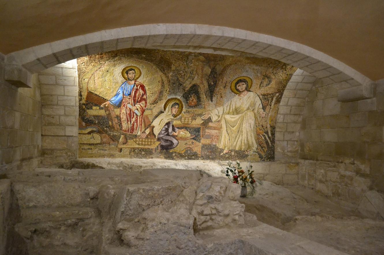 Фрески в храме Святого Иосифа