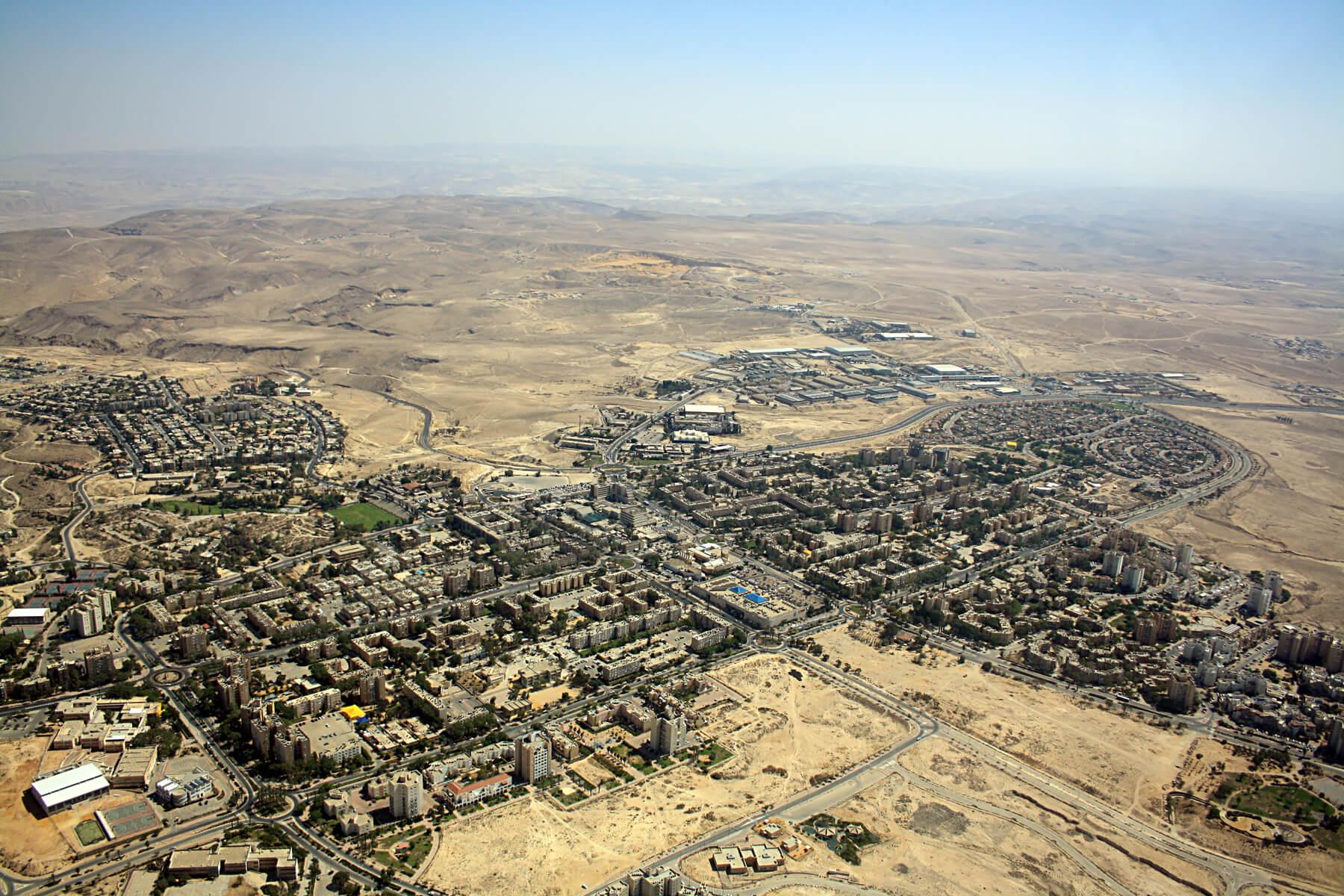 Арад – город в пустыне Израиля