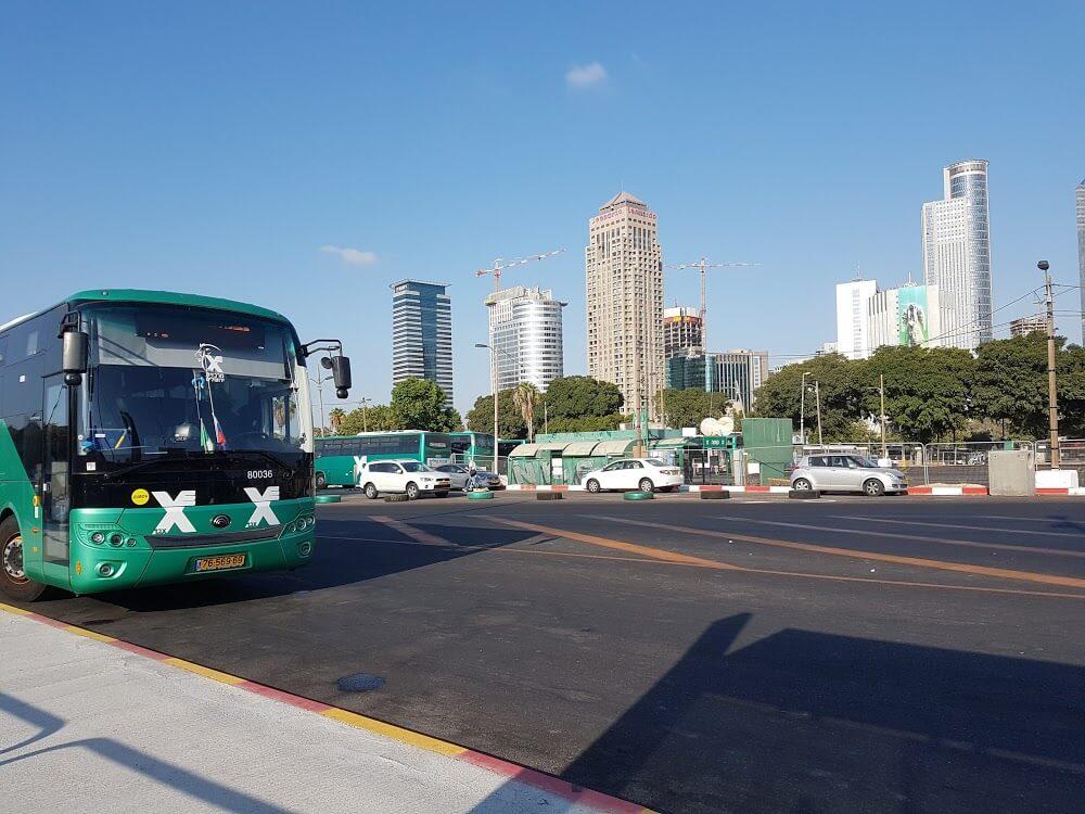 Поездка на автобусе «Тель-Авив Арлозоров – Эйн Геди»