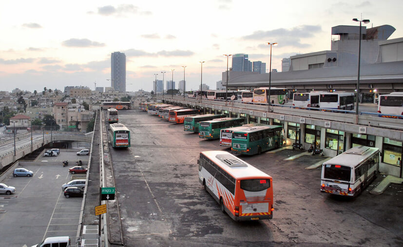 На автобусе «Тель-Авив – Эйлат»