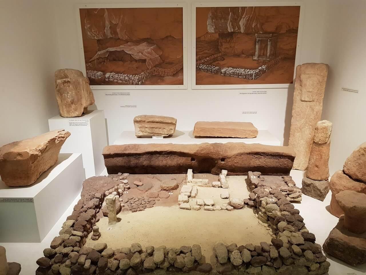 В музее Эрец-Исраэль