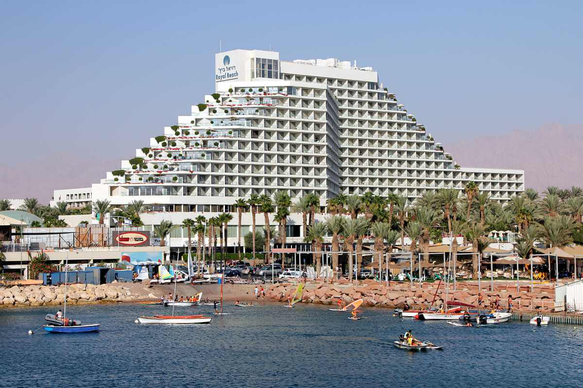 Отель на первой береговой линии Эйлата