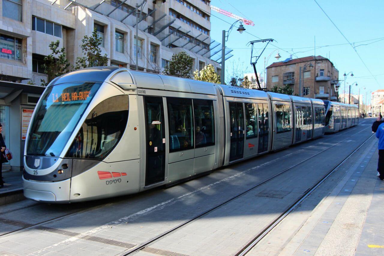 Надземное метро Иерусалима