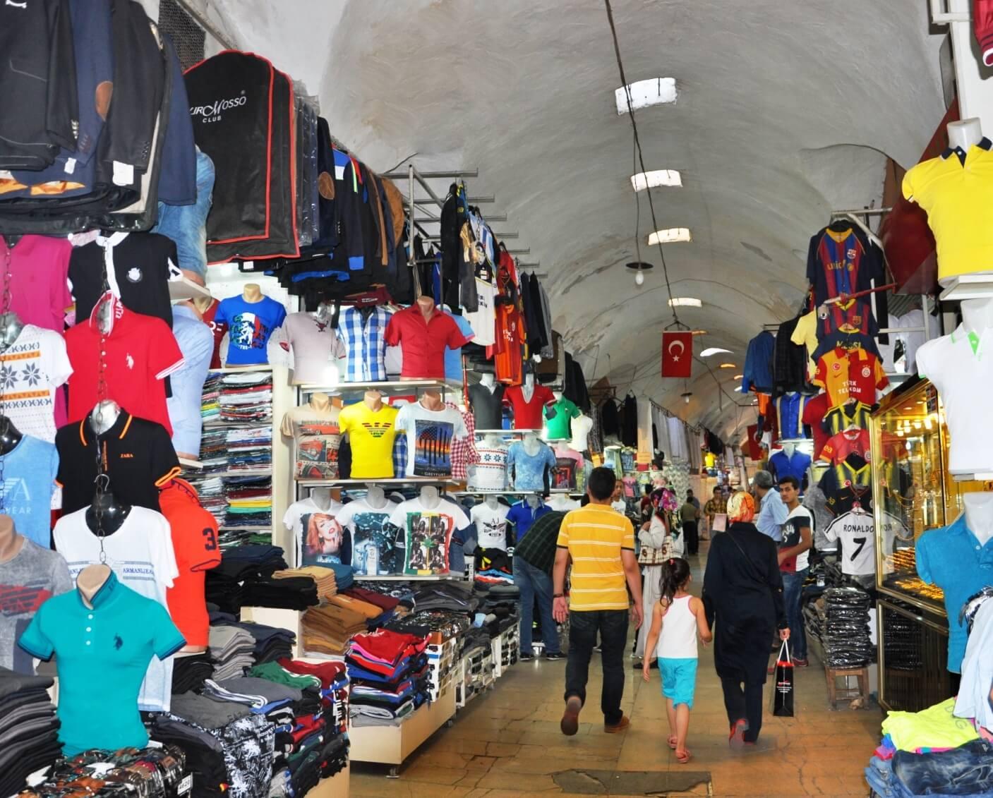 Местный ассортимент одежды