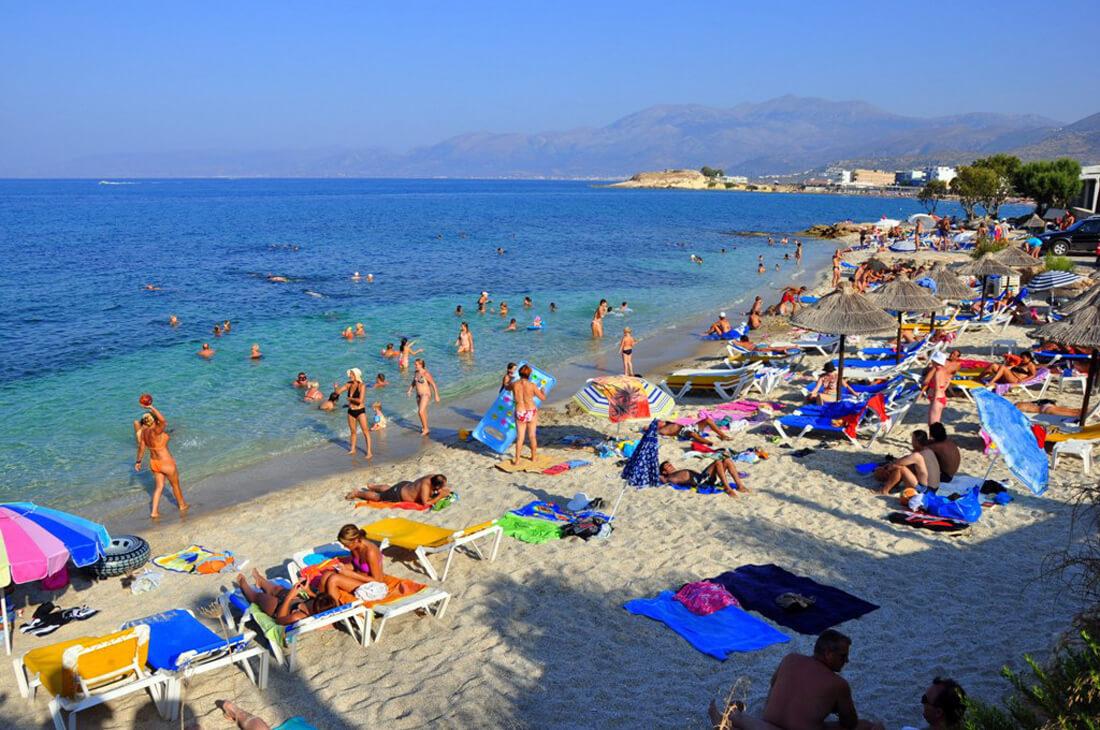 Пляж Лиманакия
