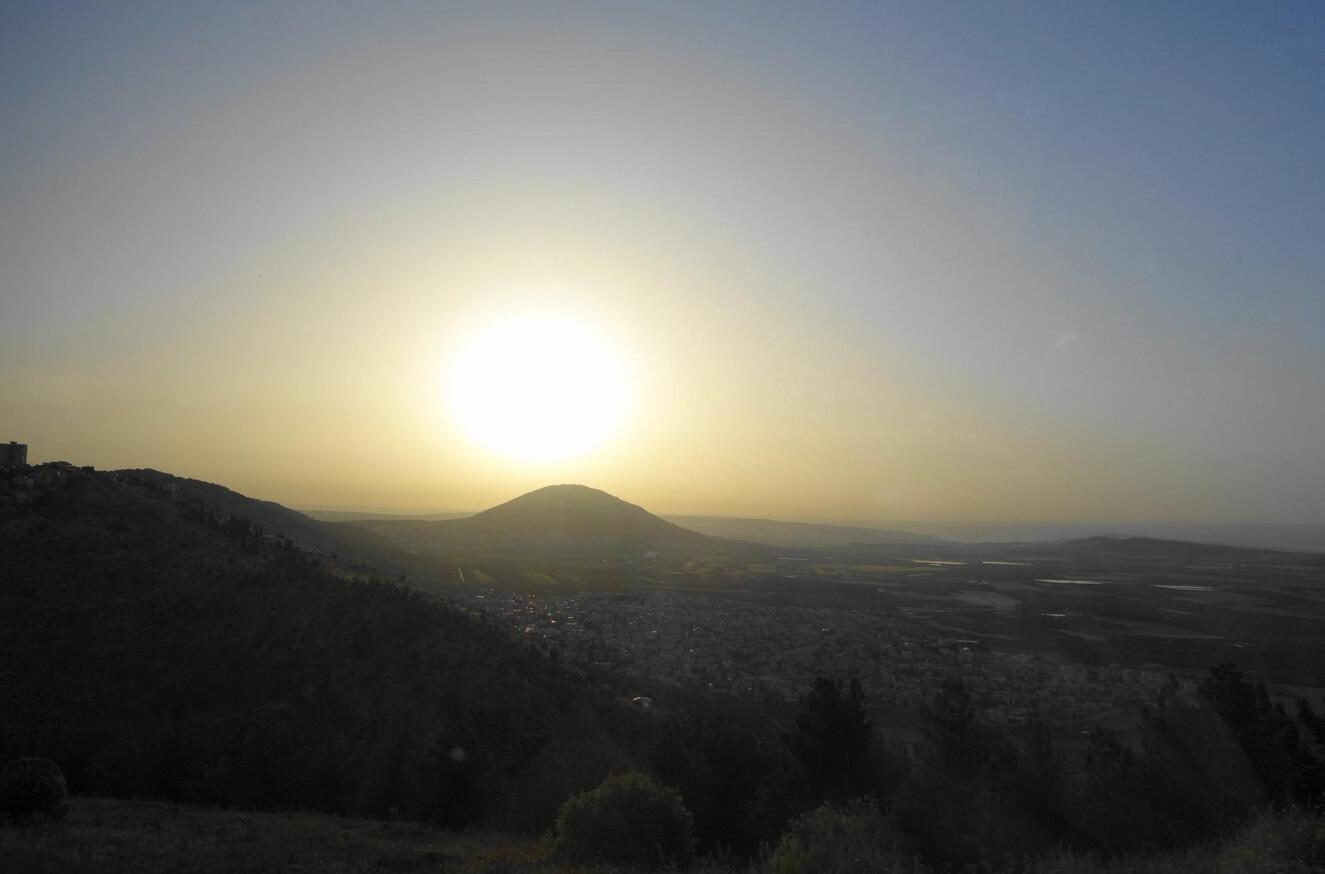 Вид на гору Фавор