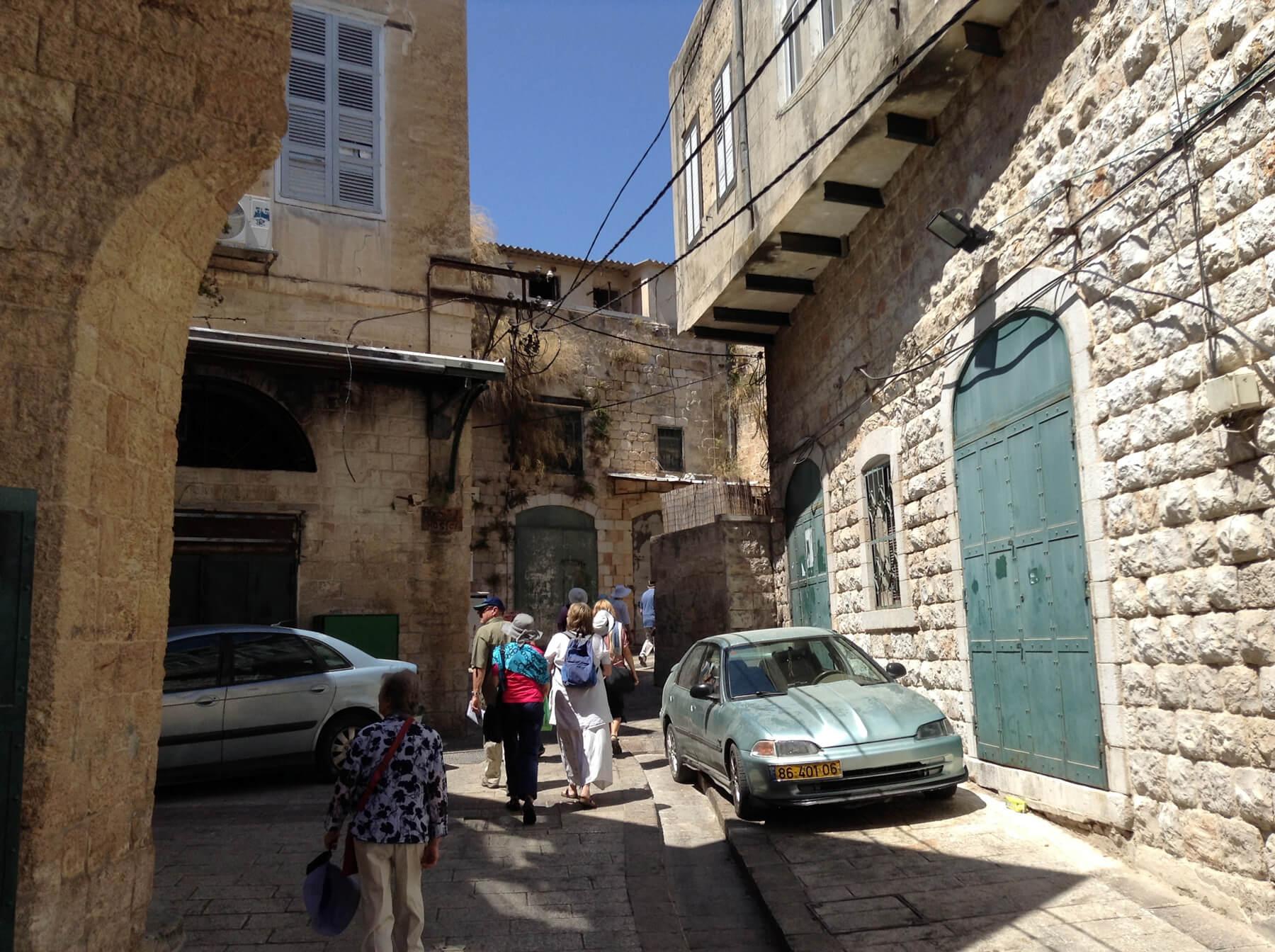Прогулка улицами Назарета