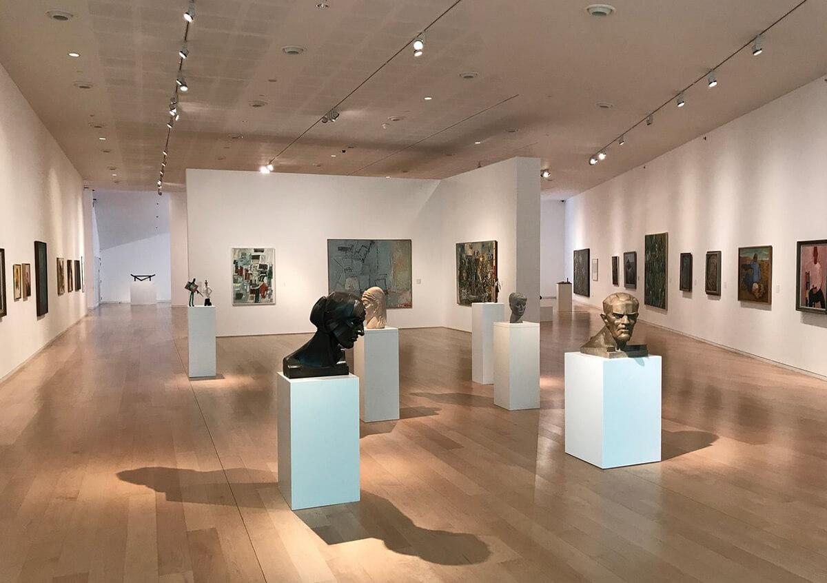 В музее искусств Тель-Авива